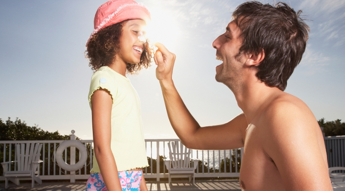 Picking the right type of sunblock